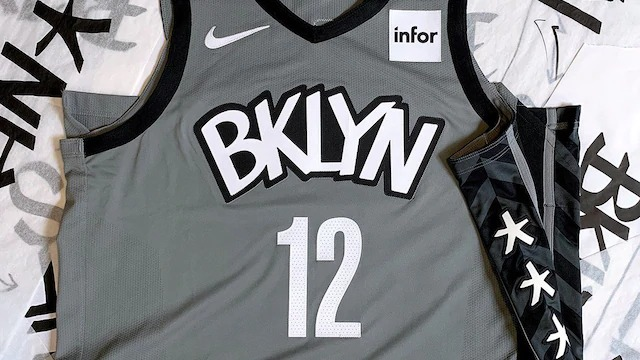 Brooklyn Nets Releases New Jersey Designs