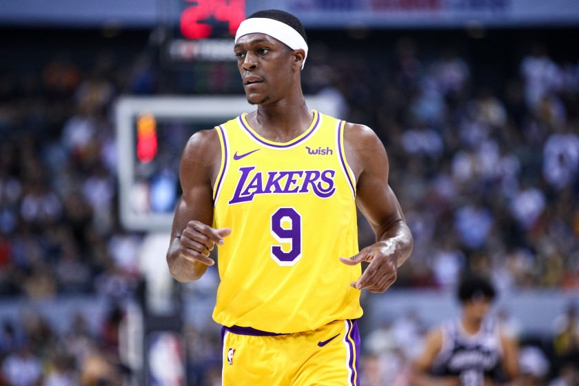 Rajon Rondo Fined $35,000 For Unsportsmanlike Conduct 1160041346