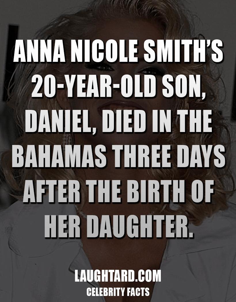 Fact About Anna Nicole Smiths Son Death 572209745