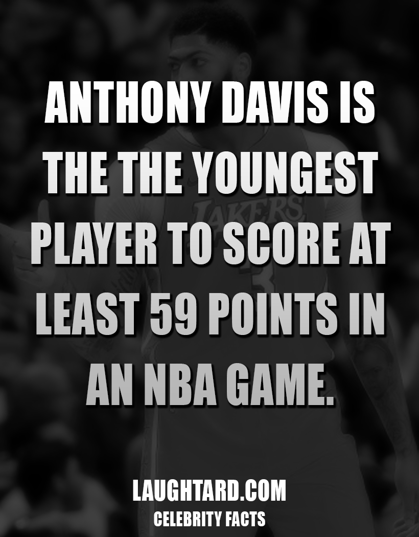 Fact About Anthony Davis