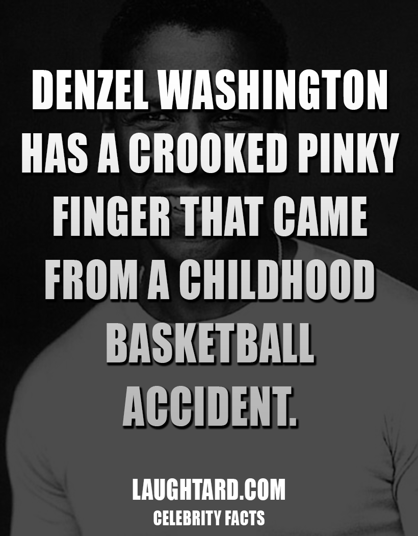 Fact About Denzel Washington 1641672847