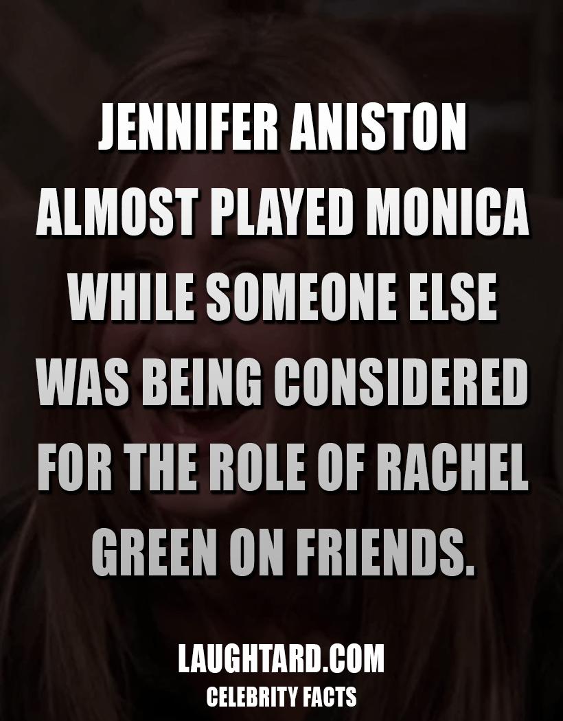 Fact About Jennifer Aniston On Friends 1203064144