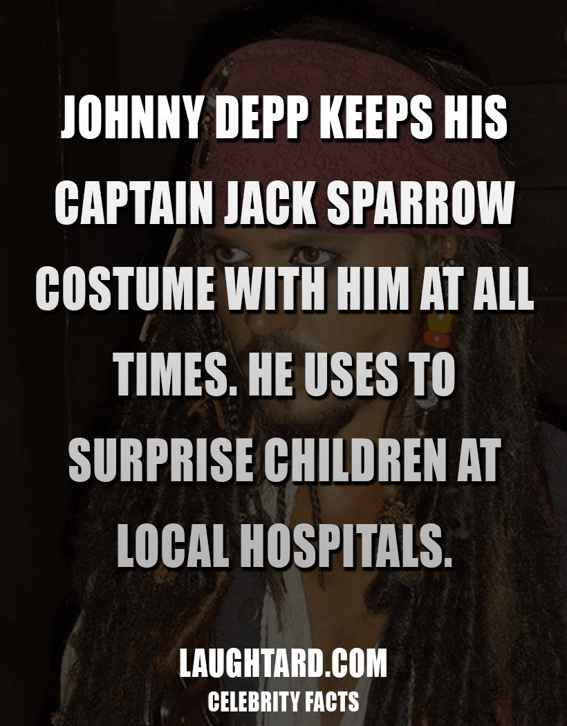 Fact About Johnny Depp 235519296