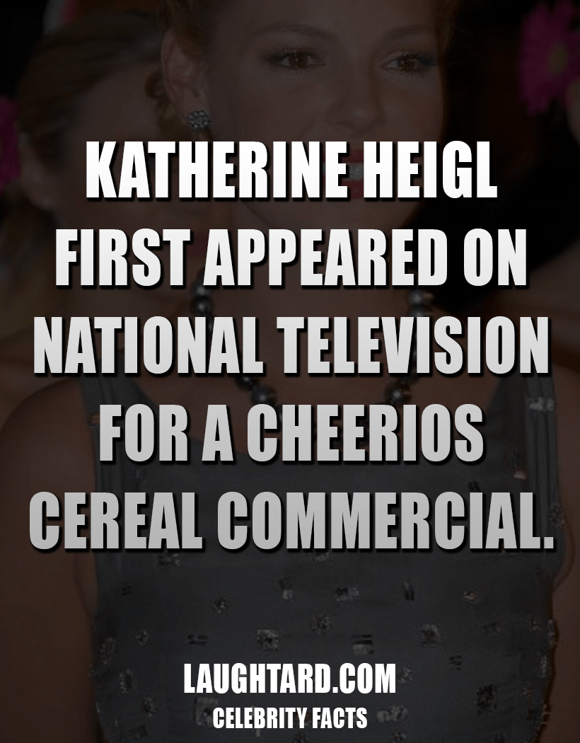 Fact About Katherine Heigl First TV Appearance 689416182