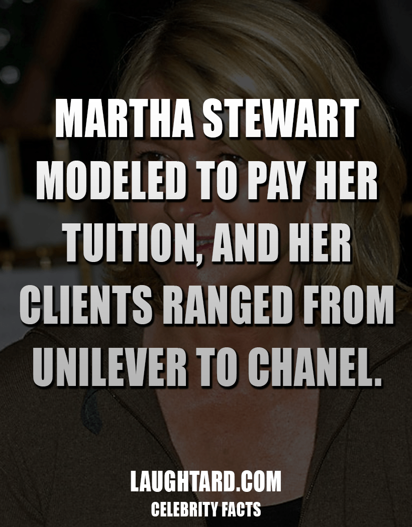 Fact About Martha Stewart 2082779395
