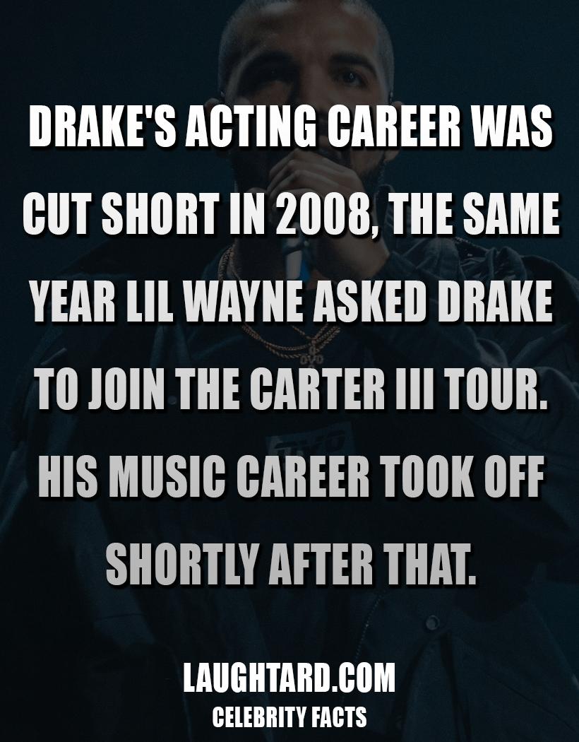 Fact About Rapper Drake 1490481909