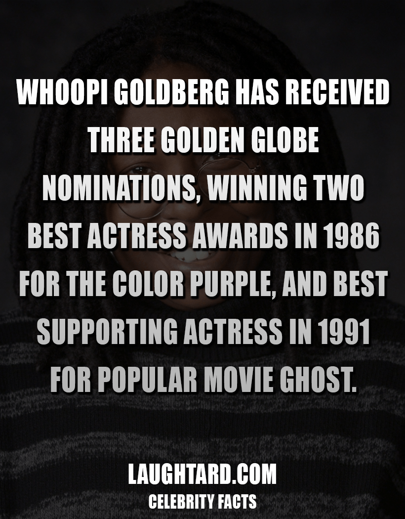 Fact About Whoopi Goldberg Career 3433024