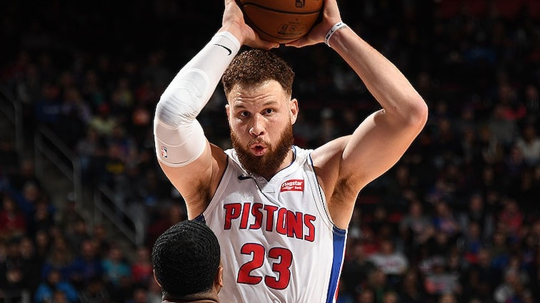Blake Griffin At The Top Of Headlines For Trade Rumors 624551384