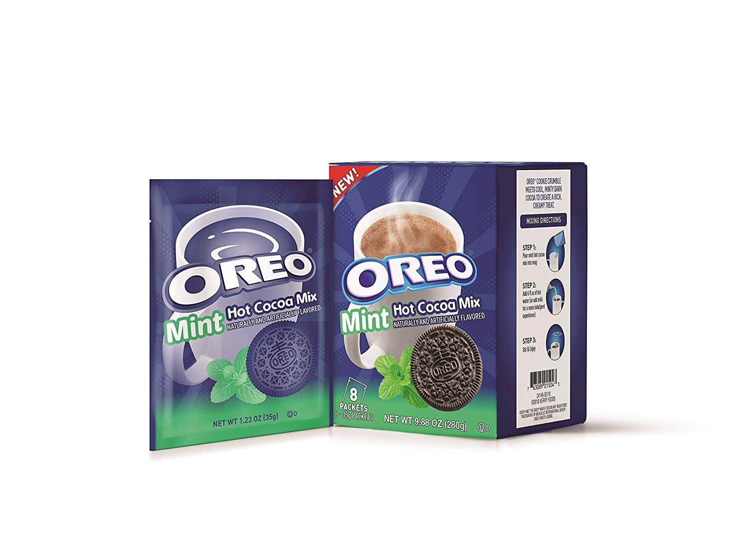 Oreo Mint Hot Chocolate Is Everything Our Cozy Nights Were Missing