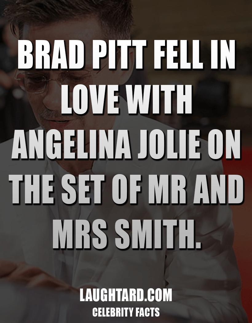 Fact About Brad Pitt #038; Angelina Jolie 135742448