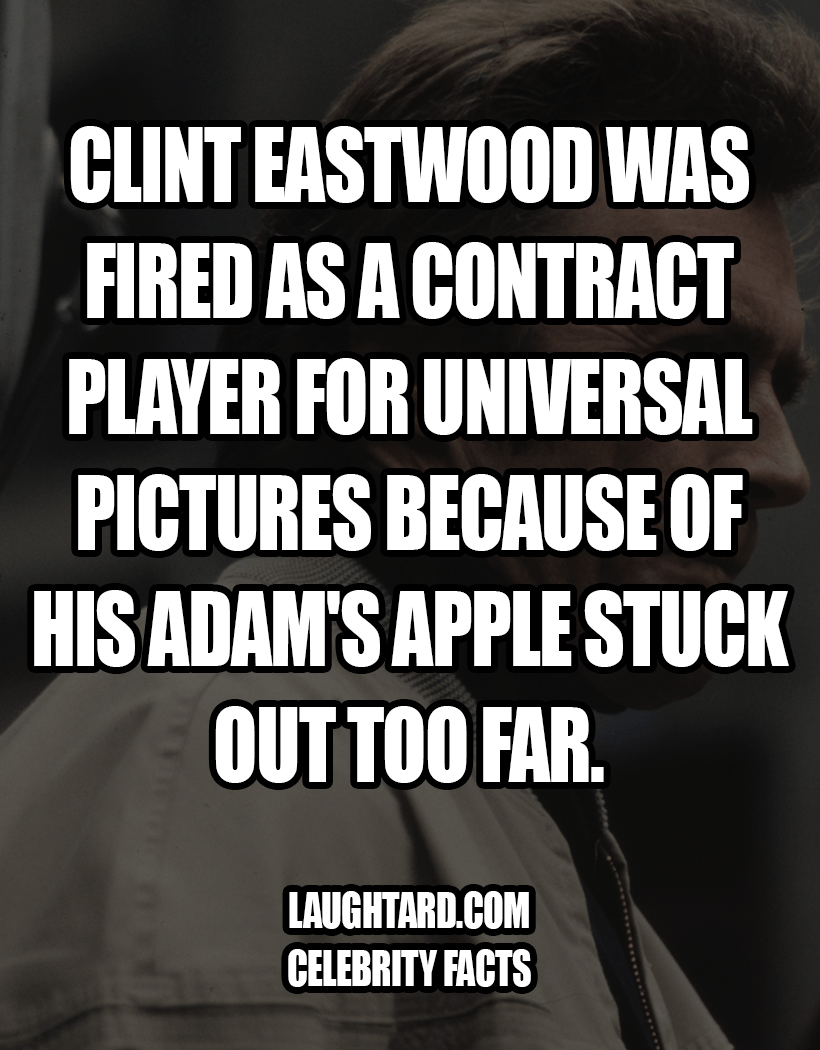 Fact About Clint Eastwood