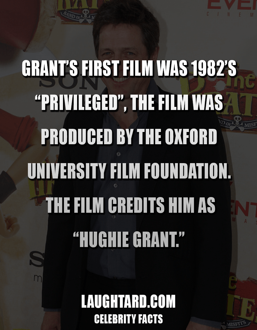 Fact About Hugh Grant 173132618