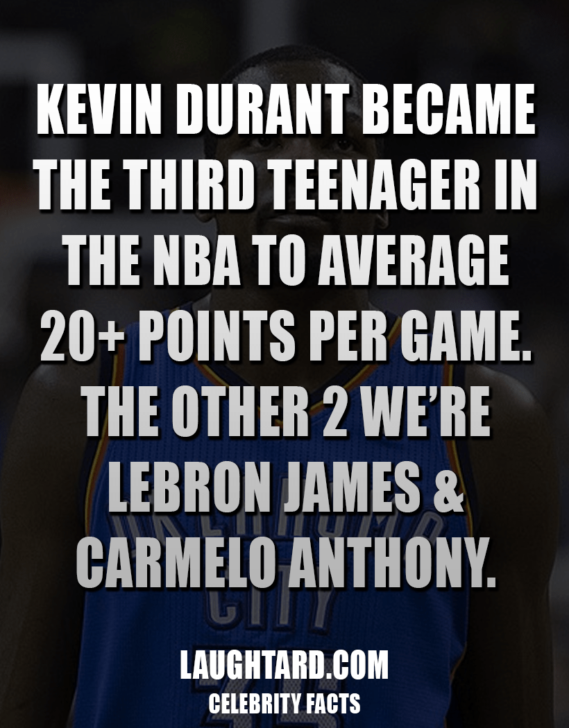 Fact About Kevin Durant 364516373