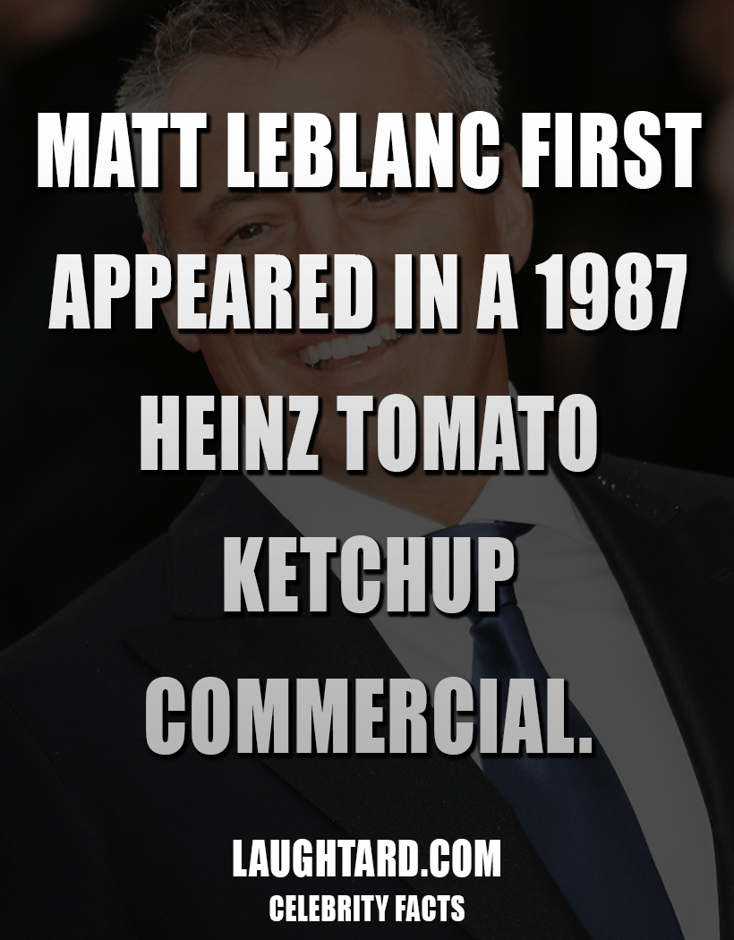 Fact About Matt LeBlanc