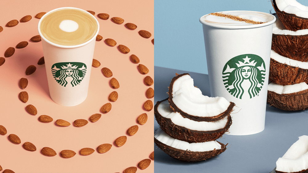 Starbucks Has Added Two New Non-Dairy Drinks