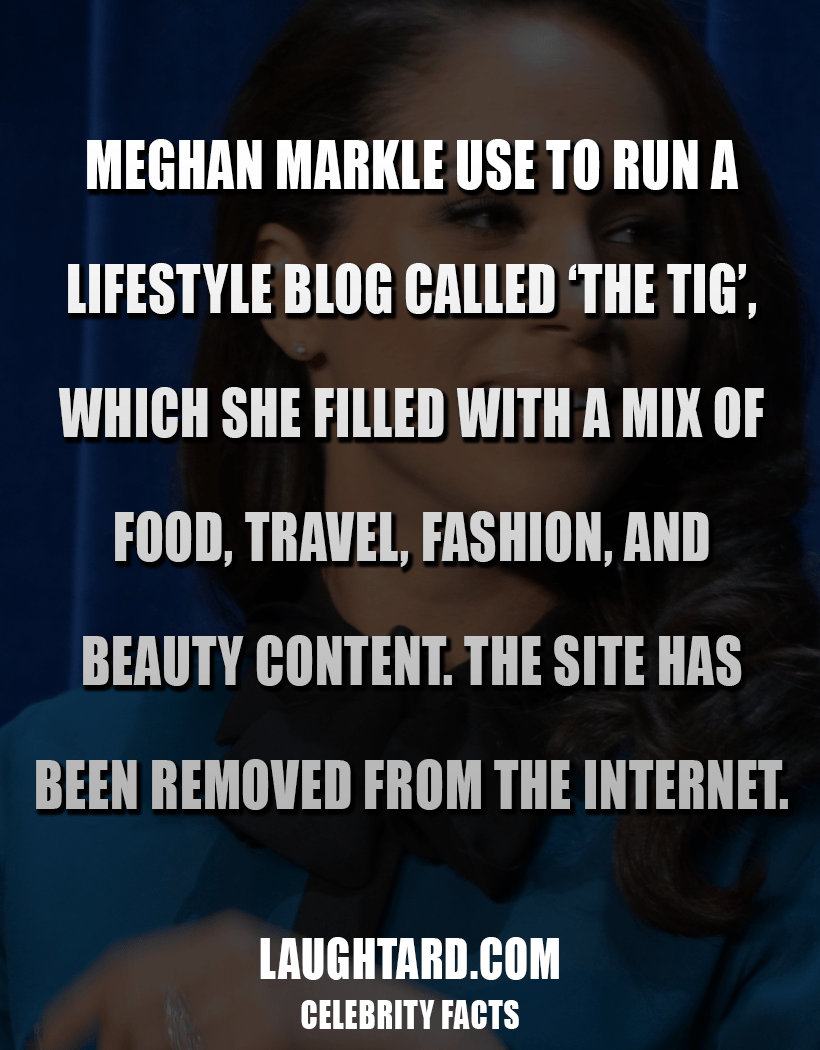 Fact About Meghan Markle 672775978
