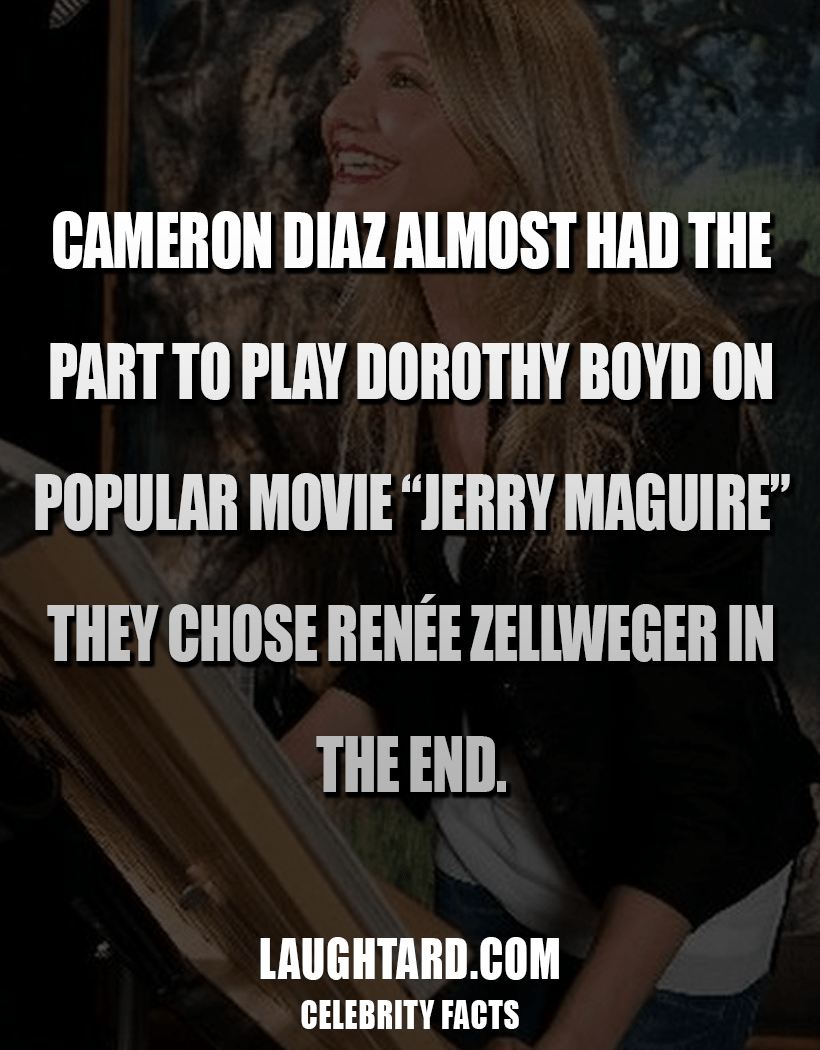 Fact About Cameron Diaz