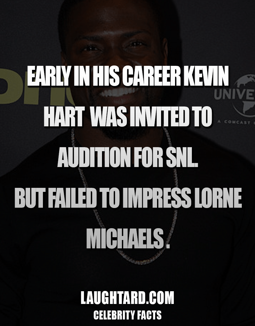 Fact About Kevin Hart