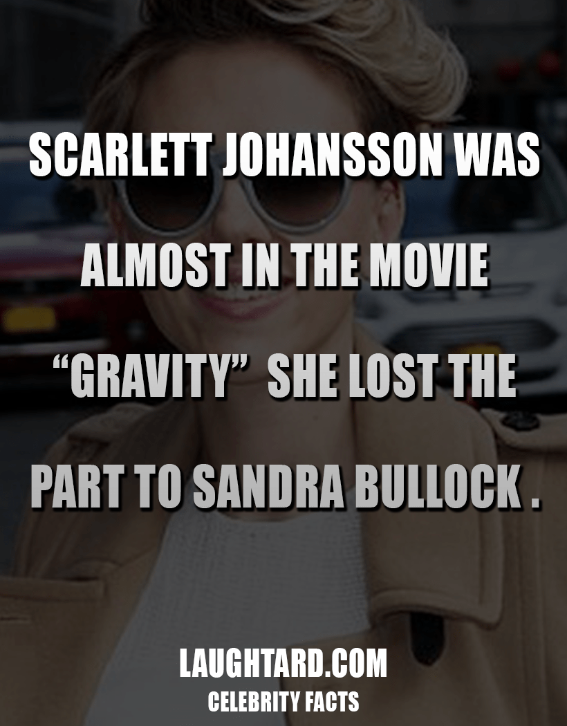 Fact About Scarlett Johansson